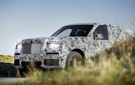 Rolls-Royce Cullinan 原型車廠照曝光