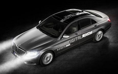 M-Benz新頭燈技術 讓車子更安全也更聰明