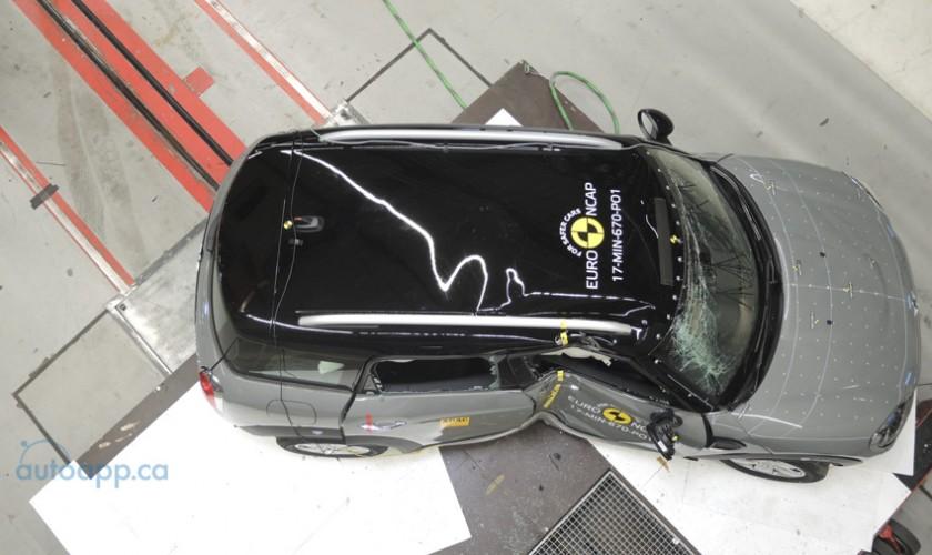 新一波Euro NCAP測試成績出爐 Mini Countryman獲五星認證