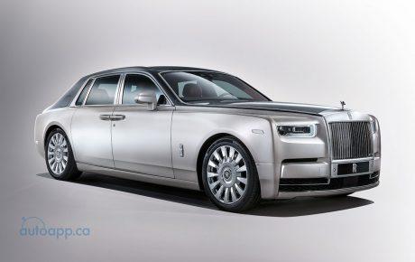 有所變有所不變  第八代Rolls-Royce Phantom亮相
