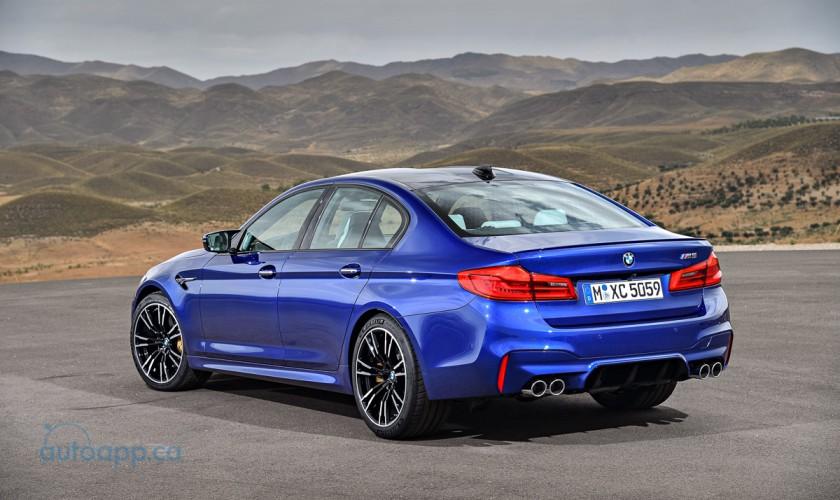 首次導入四驅系統 BMW New M5正式發表