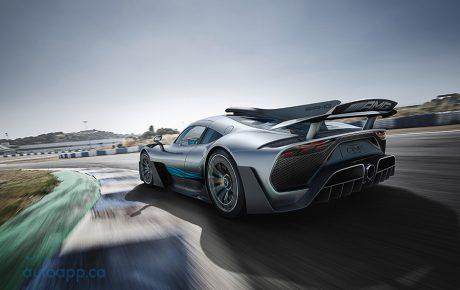 名符其實的F1道路版賽車 M-Benz限量超跑Project One於IAA現身