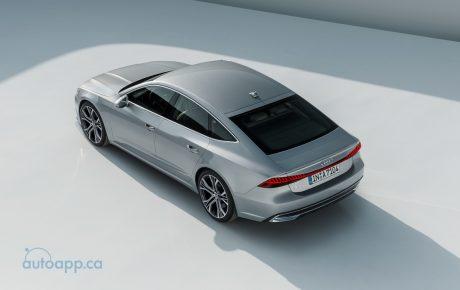 比照旗艦A8高科技規格 第二代Audi A7美型發表