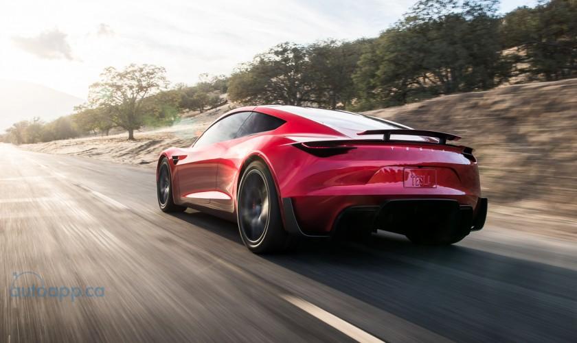 續航力和性能都驚人! 二代Tesla Roadster預計2020登場