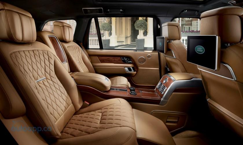 不讓Bentayga專美於前 Range Rover SVAutobiography小改款LA車展現身