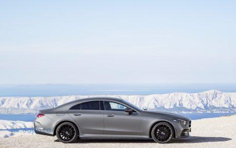 三代CLS於LA車展現身 預計2018 Q3北美上市