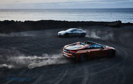 等了好久終於現身 i8 Roadster跟隨小改款i8在LA車展發表
