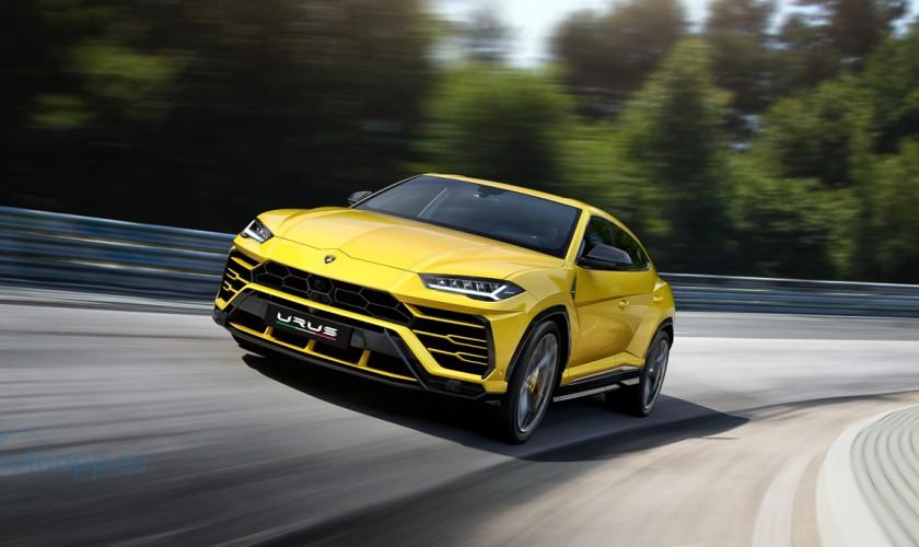 史上最悍SUV Lamborghini Urus終於現身