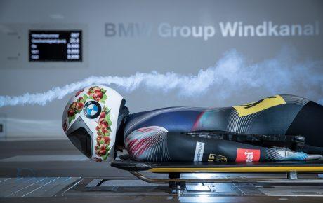 百分之一秒決勝負! BMW風洞為德國雪橇選手找出決勝關鍵