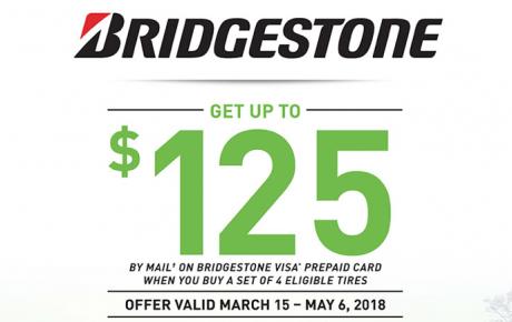 2018 春季輪胎回扣 – Bridgestone