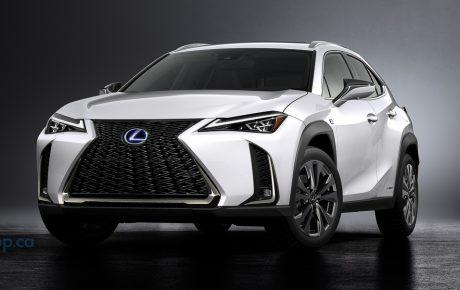 SUV大軍儼然成形  Lexus UX小型休旅日內瓦現身