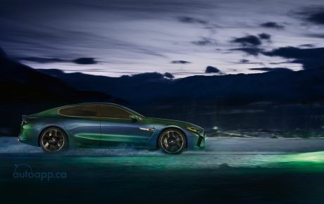 指名叫陣GT 4-Door Coupe  BMW Concept M8 Gran Coupe日內瓦亮相