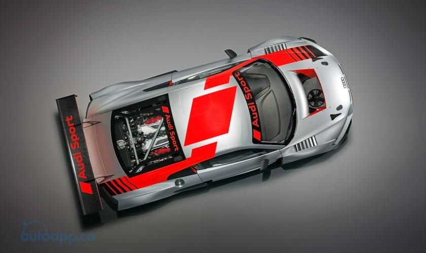 預告小改款R8樣貌 Audi R8 LMS GT3發表