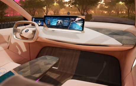 BMW Group at the CES 2019 in Las Vegas. Virtual drive in the BMW Vision iNEXT.
