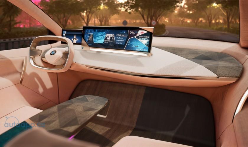 拉斯維加斯國際消費電子展展上 寶馬2019 開放虛擬駕駛Vision iNEXT