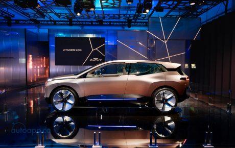 BMW Vision iNEXT: 高度自動駕駛+全面智慧互聯的全電動概念車