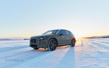 BMW iNEXT undergoes winter trial tests: advancing the future of driving pleasure at the polar circle.