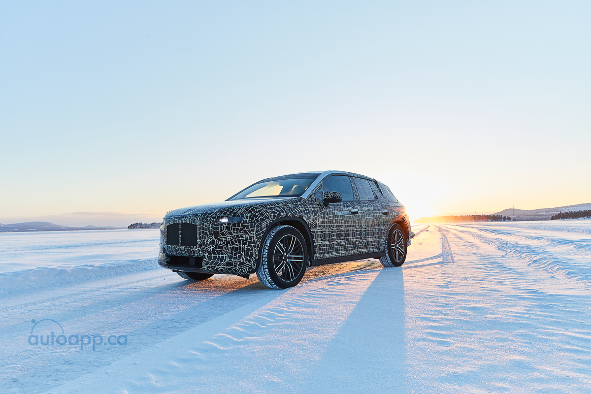 Autoapp ca » BMW iNEXT undergoes winter trial tests