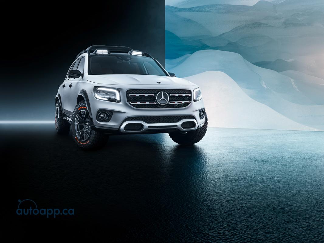 Mercedes-Benz Concept GLB 2019