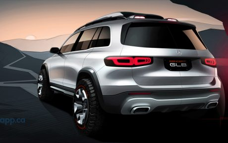 Mercedes-Benz Concept GLB – This is how spacious and robust a compact car can be
